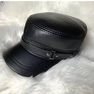 Accessories - XYS Biker Motorcycle Flat Cap Adjustable Hat